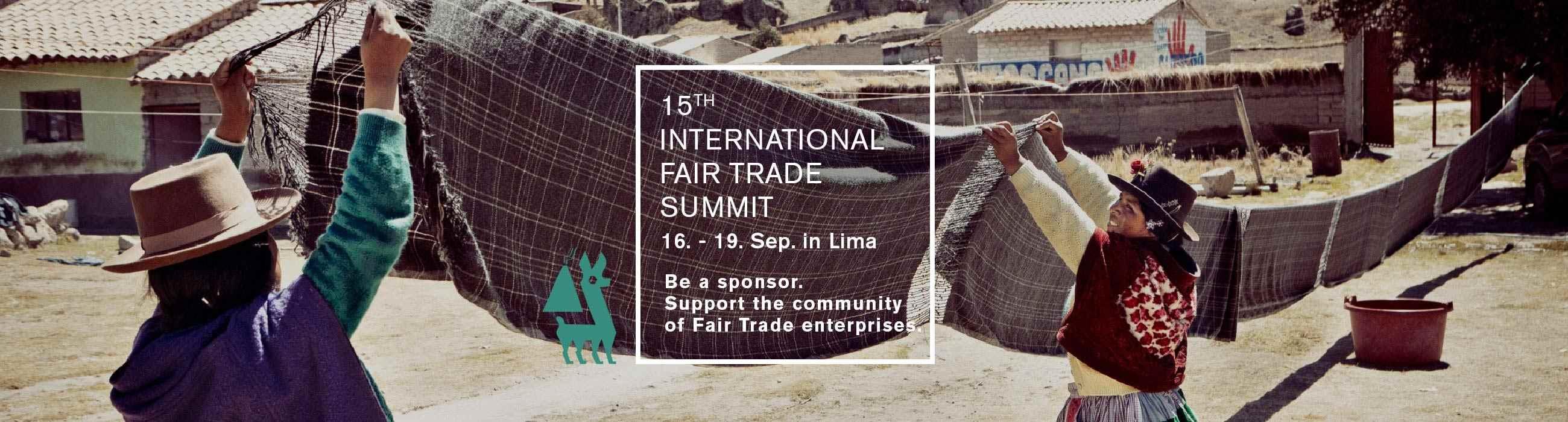 Fair Trade Summit Lima 16-19 Sep 2019
