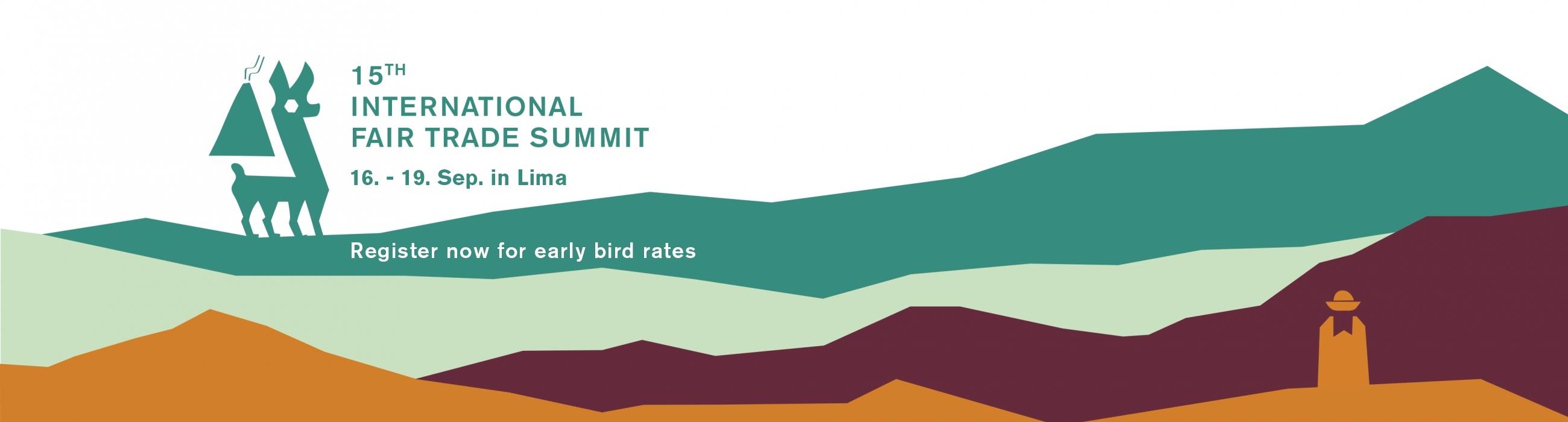International Fair Trade Summit, Lima, Peru