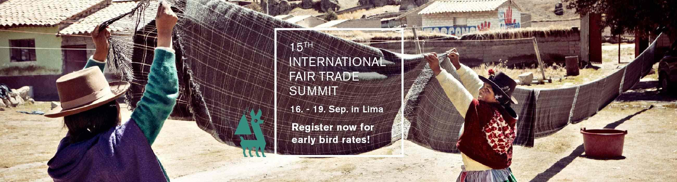 International Fair Trade Summit - Lima, Peru
