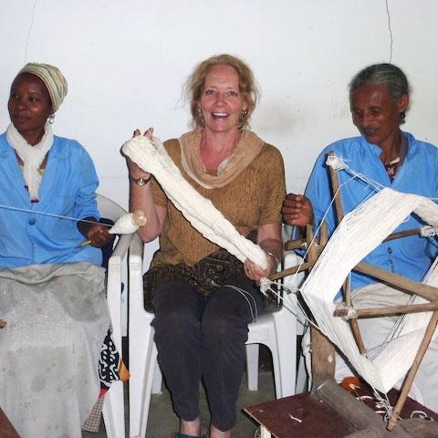 Kathy Marshall, FairTrade, Podcast, WFTO, Sabahar