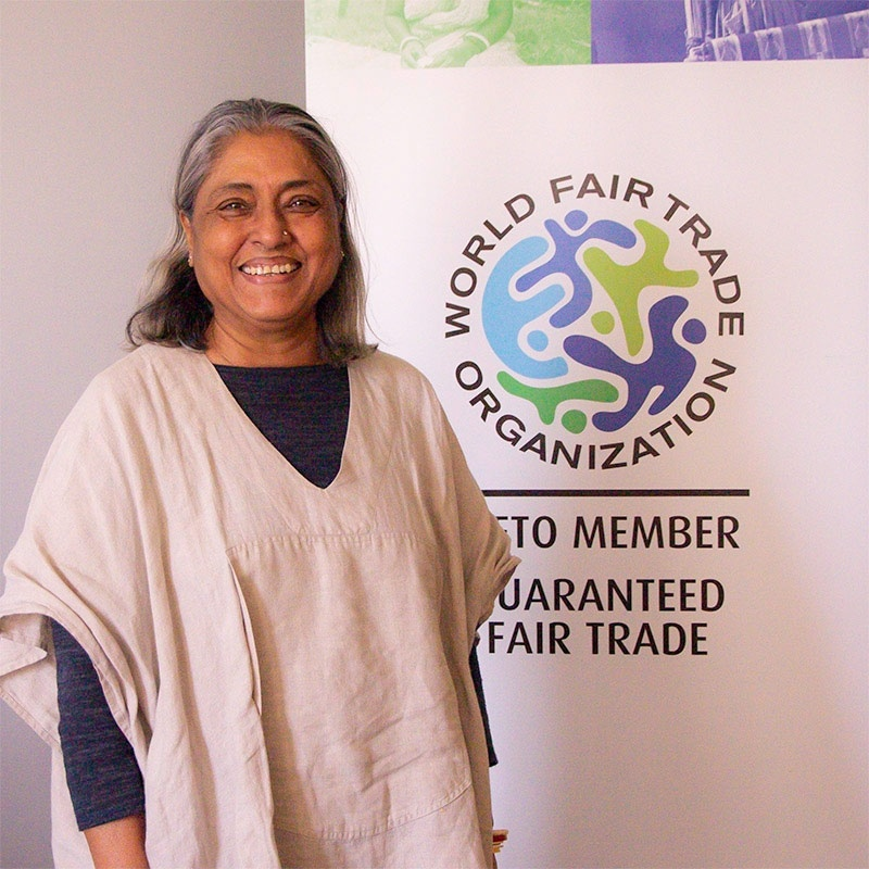Roopa Mehta, President, Fair Trade, World Fair Trade Organization