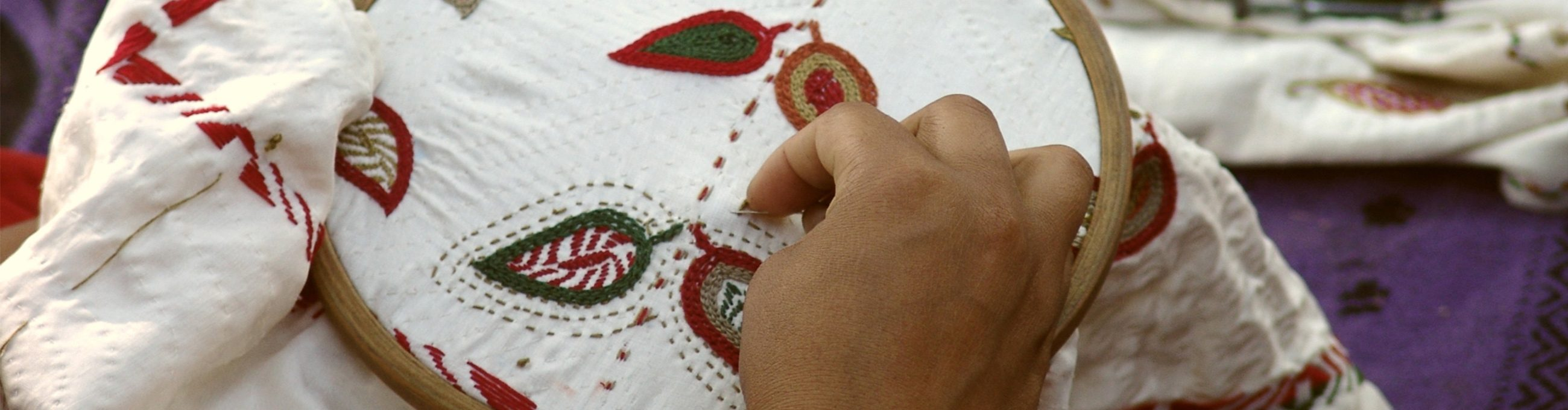 Fair Trade, Artisans, Gender Equality, Equitable Marketing Association (EMA) , India, Embroidery