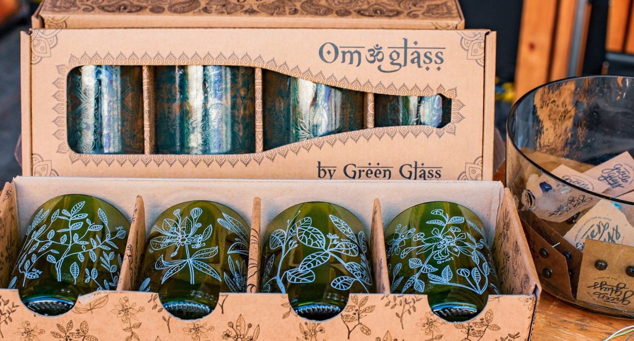 Green Glass Fair Trade Enterprise - Upcycling - Fair Trade Innovation